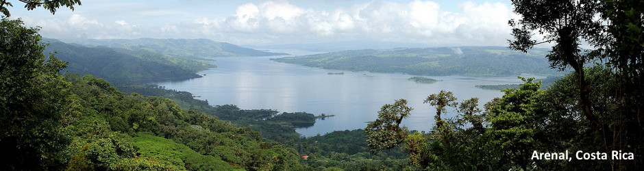 View of Arenal, Costa Rica