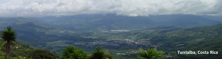 View of Turrialba, Costa Rica