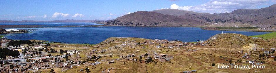 View of Puno, Peru