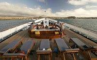 Galapagos Cruise Ship Evolution Foredeck Jacuzzi Hot Tub