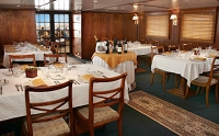 Galapagos Cruise Ship Evolution Interior Dining Room