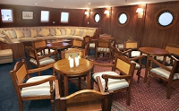 Galapagos Cruise Ship Evolution Lounge