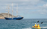 Galapagos Cruise Yacht Mary Anne Sea Kayaking
