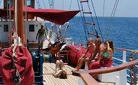 Galapagos Cruise Yacht Sagitta Sun Deck