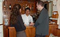 Galapagos Cruise Yacht Sagitta Bar