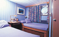 Galapagos Cruise Ship Santa Cruz Twin Cabin