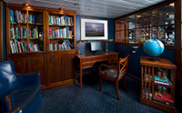Galapagos Cruise Ship Santa Cruz Natural History Library